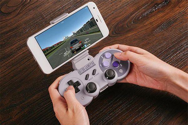20X Wireless Classic Joystick Bluetooth / USB-C 8 Bit SF30 Pro / SN30 Pro / SNES30 Controller Dual PC für iOS Android Gamepad PC F-JYP