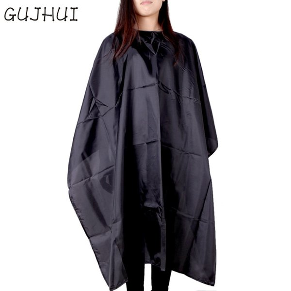 2017 Best offer GUJHUI good quality cutting salon hairdressing dress Cape Hairdressing Hair Fabric Waterproof Apron