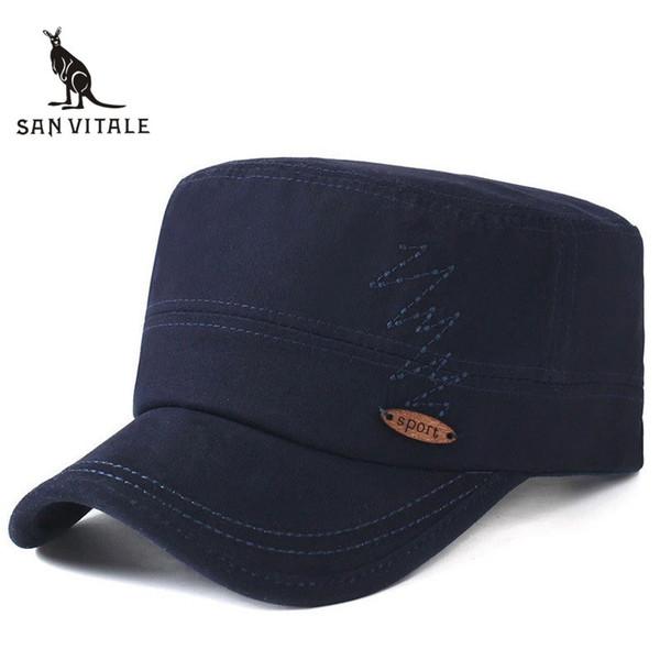 Hats & Caps Mens Fitted Gorras Para Hombre Classic Style Golf Us Army Bone  K-Pop Casquette Snap Back Man Black Designer
