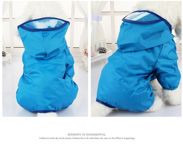 Sausage Dog Outfits Dog Raincoat Waterproof Clothes Puppy Xsmall Pink XL Xlarge Blue Yellow with Hood Legs Medium Dachshund Apparel