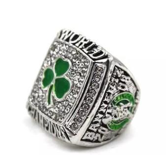 Yeni Erkekler moda takı 2008 Celtics şampiyonası yüzük alaşım spor hayranları koleksiyonu hediyelik eşya Noel hediyesi