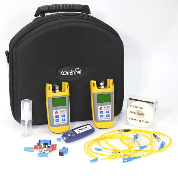 KomShine Optical Loss Test Set / Fiber Optic Tool Kit