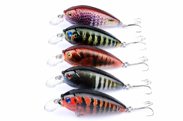 Fishing lures Set 7cm 10.2g Minnow Hard Bait Dive 0.3-0.6m Quality Professional Japan Mini Crankbait Carp Fishing Wobblers