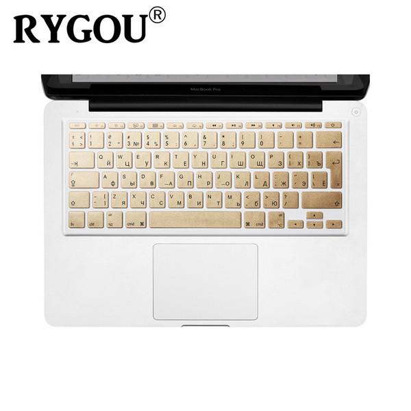 Russisch / Englisch Brief Keyboard Cover Skin für MacBook Air 11