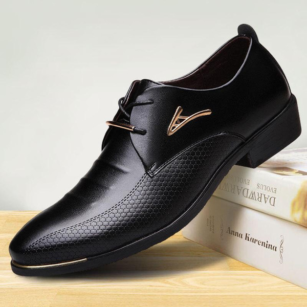 luxury designer mens dark brown leather shoes unique sewing pointed toe dress shoes formal wedding party evening suit 48