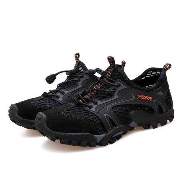 Acquista Sneakers Da Uomo Outdoor Scarpe Da Trekking Da Uomo Traspiranti Uomo Sport Outdoor Scarpe Da Arrampicata Sandali Estate Trekking Scarpe Da