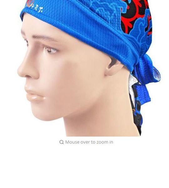 Sports Headwear Cycling Caps BMX Hats Men Riding Bike Bicycle Bandana Scarf 14 Colors Anti-sweat Male Balaclava Headwear M127