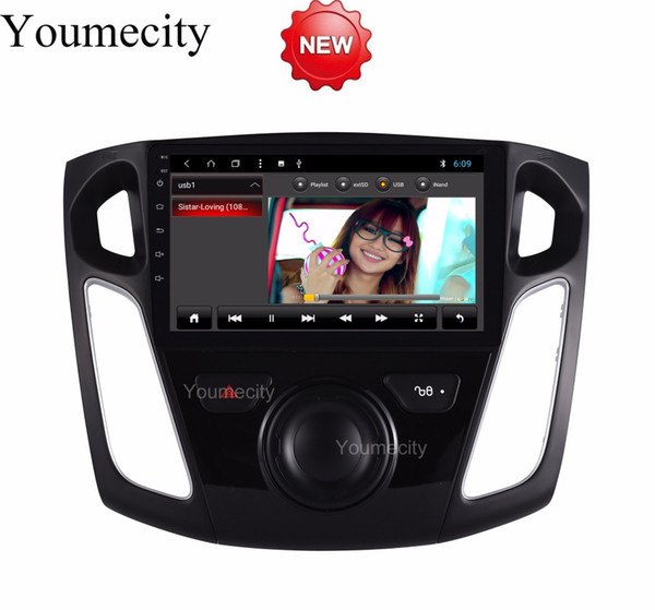 Octa Core Android 8.1 Car Dvd Gps Player For Ford Focus 3 2012 2013 2014 2015 Car Radio Video Stereo Audio Navigation