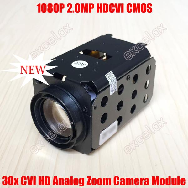 1080P 2MP HDCVI 30x Optical Sony IMX322 CMOS Zoom Camera Module Auto Focus CVI Coaxial Analog HD Coax CCTV PTZ Speed Dome Block