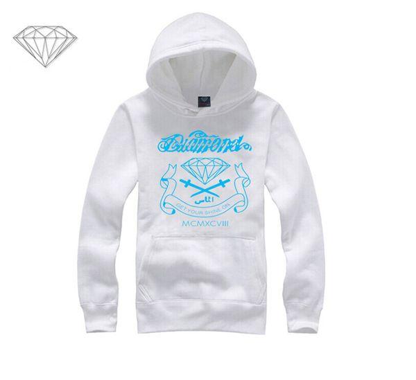 Diamond Supply hoodie for men free shipping diamonds hoodies hip hop brand new 2018 sweatshirt men's clothes pullover M14
