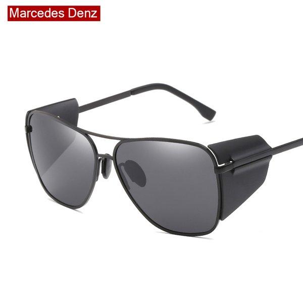 f542a53dc2a66 2018 new steampunk óculos de sol dos homens designer de marca óculos de sol  para senhoras