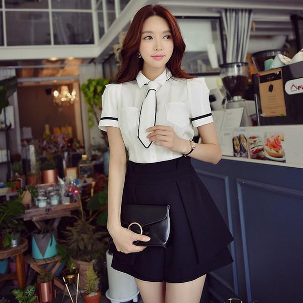 original summer 2017 new fashion l temperament high waist skirt shorts women wholesale