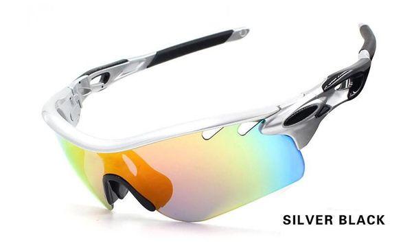 color 01 Silver black
