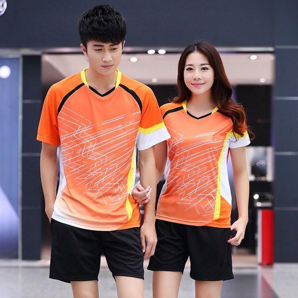 316b4341c New 2018 SALE badminton Shirt Shorts suits,men / women short-sleeved table  tennis