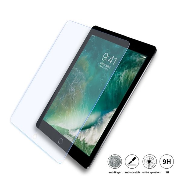 best selling Tempered Glass for ipad 2 3 4 Mini 1 2 3 4 Pro 10.5 Explosion Proof Screen Protector Film For ipad Mini 1