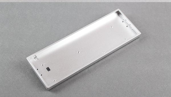 Mini 68 keys mechanical keyboard case aluminum frame portable tada68 keyboard case metal housing game board