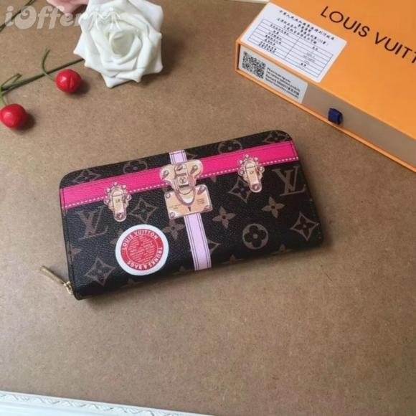 M60017 MEN WOMEN LOCK ZIPPER WALLET PURSE BAG wallet purse Belt Bags Mini Bags Clutches Exotics