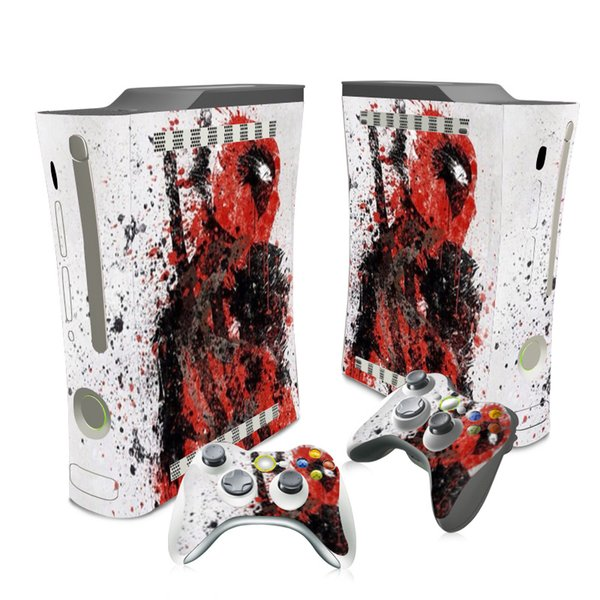2019 Customized Manufacture Deadpool Designs Sticker Cover Skin For Xbox  360 Fat Video Game From Skinstore, $5 75 | DHgate Com