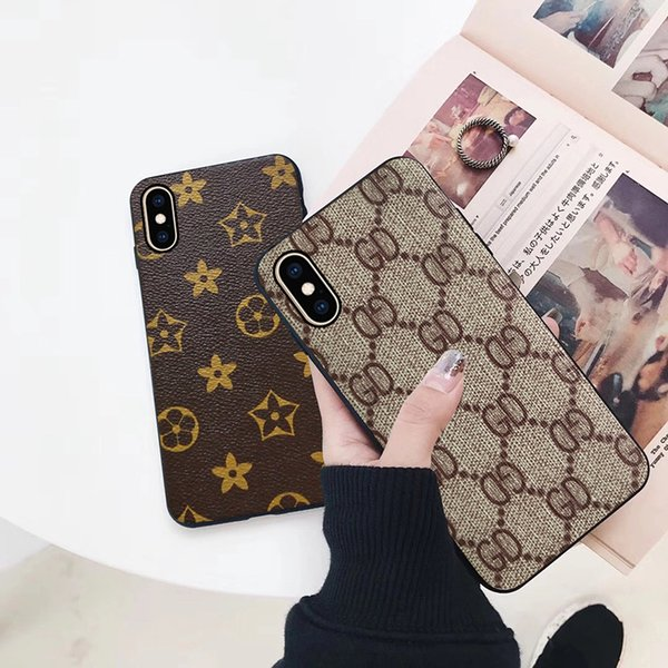 Fashion Luxury Phone Case for IPhoneXS IphoneXR IphoneXSmax 5.8inch 6.1 Inch 6.5 Inch Soft TPU Back Cover Phone Case 5 Styles