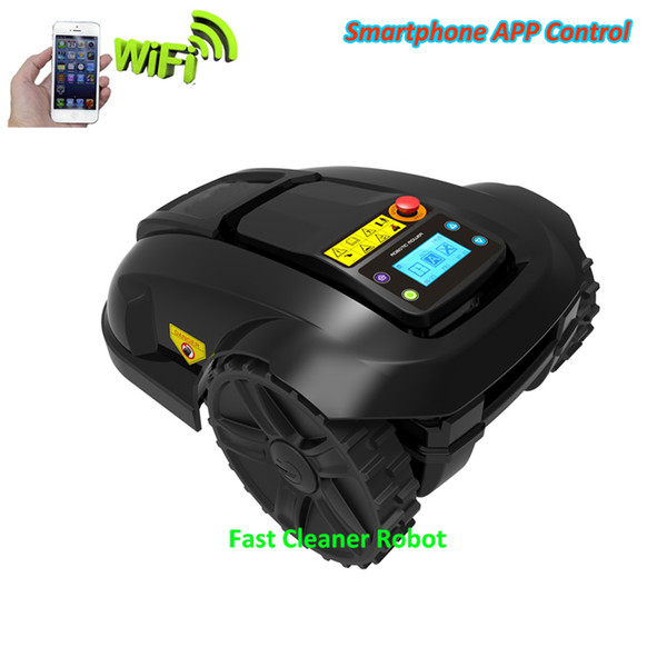 Automatic App Smartphone Control Robot Grass Cutter E1800 with 4.4ah Lithium Good For Small Garden