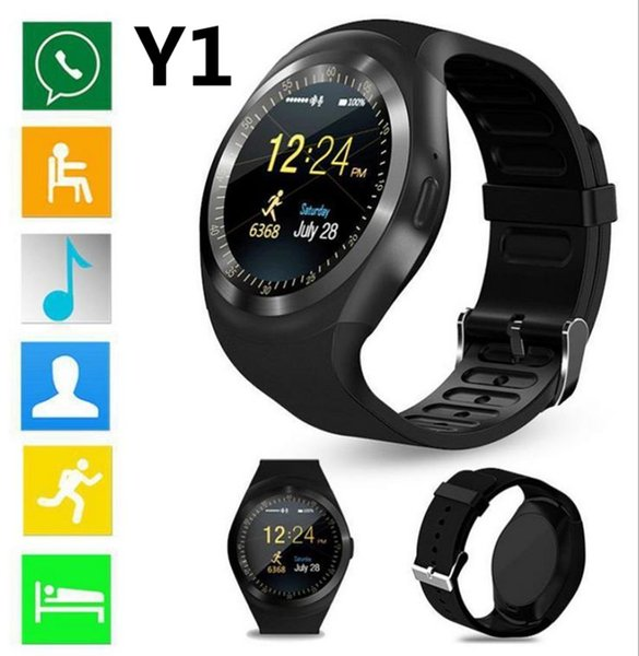 "2018 New Arrival Smart Watch Y1 1.54"" Touch Screen Fitness Activity Tracker Sleep Monitor For Android Cellphone For Apple iPhone"