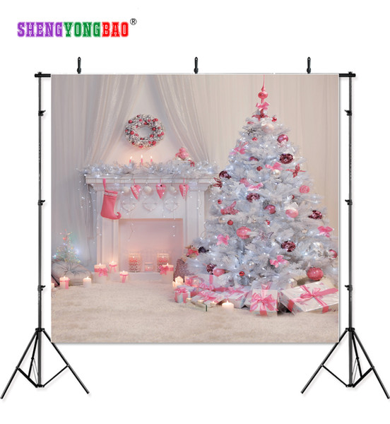 SHENGYONGBAO Art Cloth Custom Photography Backdrops Prop Christmas day Theme Photography Background 11196