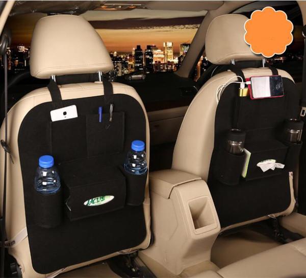 Auto Car Seat Back Multi-Pocket Storage Bag Organizer Holder Accessory Multi-Pocket Travel Hanger Backseat Organizing
