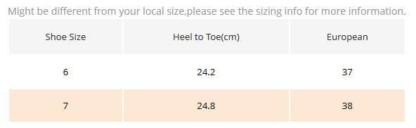 US7 = 38 = 24,8 centimetri