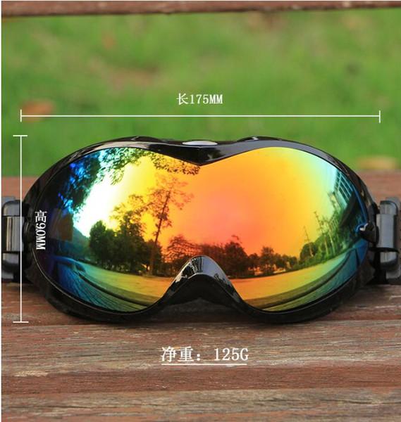 Kayak Gözlükleri Çift Lens UV400 Anti-sis Kayak Gözlük Kar Kayak Snowboard Motokros Gözlük Kayak Maskeleri veya Gözlük