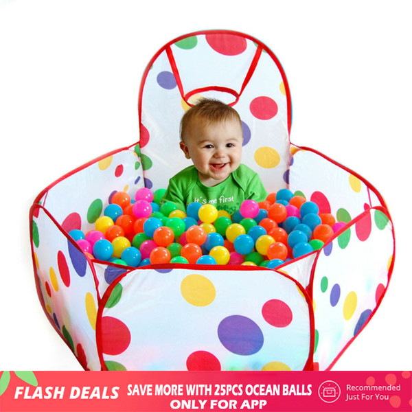 top popular Playpen for Baby Children Ocean Ball Pool Baby Play Tent Outdoor Game Pool of Balls Manege for Children Playing Tent Cabin 2020