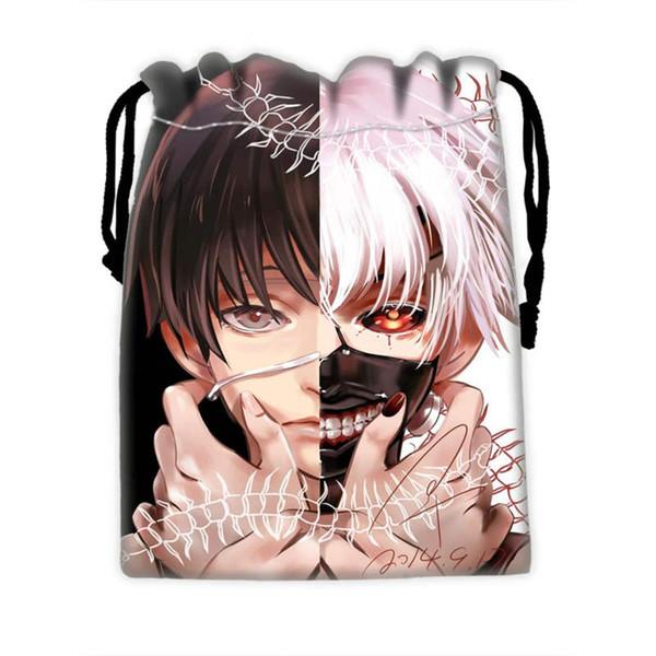 Custom Tokyo Ghoul borse con coulisse per cellulare ablet PCjewelry borse per imballaggio regalo Regalo di Natale SQ0709-S334F8