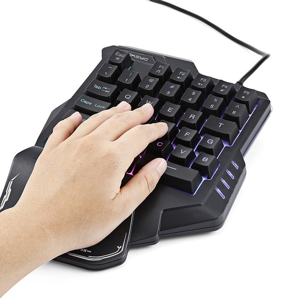 G30 Wired Gaming Keypad With LED Backlight 35 Keys One Handed Membrane  Keyboard G30 Gaming Keypad Game Keyboard Gamer Keyboard From Bingju,  $31 07|