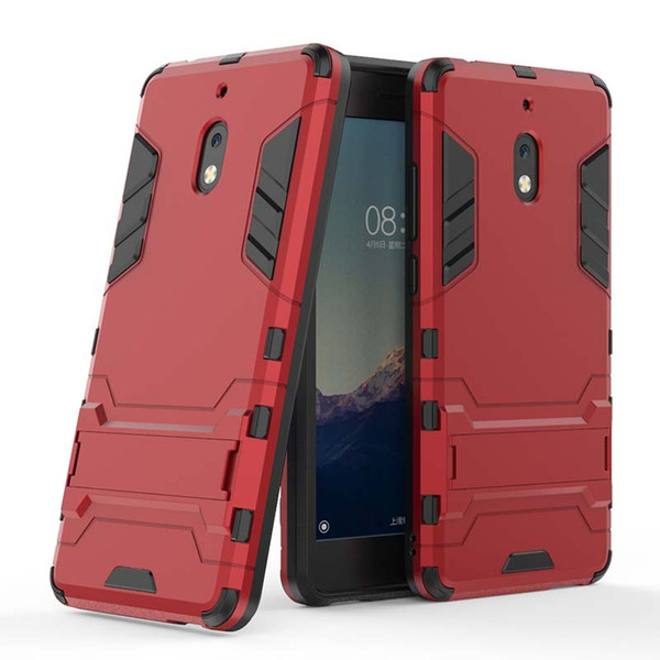 Para nokia 7.1 x7 2.1 x5 5 plus case tampa do telefone móvel magro armadura case combinação híbrido capa de luxo 2 em 1 anti choque homem de ferro