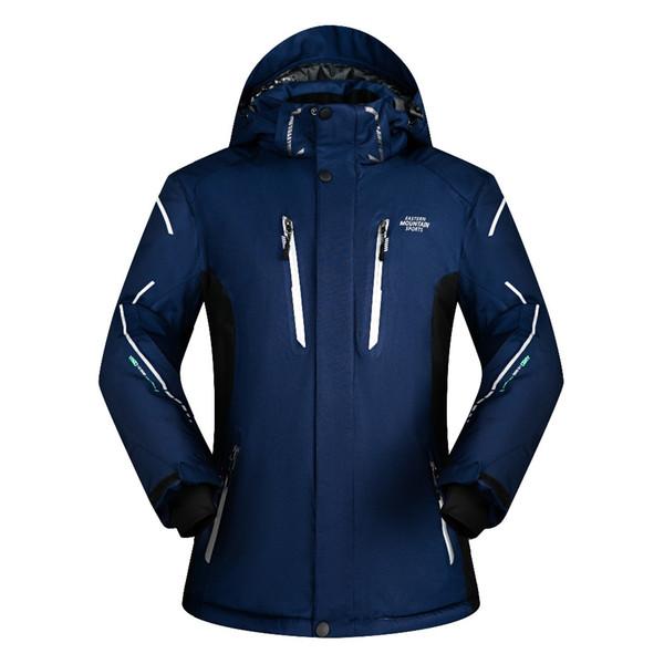 Großhandel Neue Winter Ski Jacke Wasserdichte Ski Jacke Männer Warme Atmungsaktive Snowboard Jacke Männer Outdoor Berg Skifahren Mäntel Von Oyzhiming,