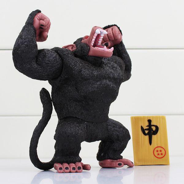 Chanycore 13Cm Anime Action Figure Black Monkey King Son Goku Dragon Ball Z Figurines Fashion Cool Boy Gift Pvc Action Figure