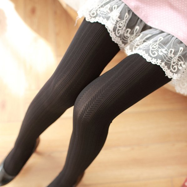 edff6360f2d63 2017Women Pantyhose Autumn Winter Knitted Stockings Women Ladies Pantyhose  Skinny Tights Warm Tights Collant Femme 140D