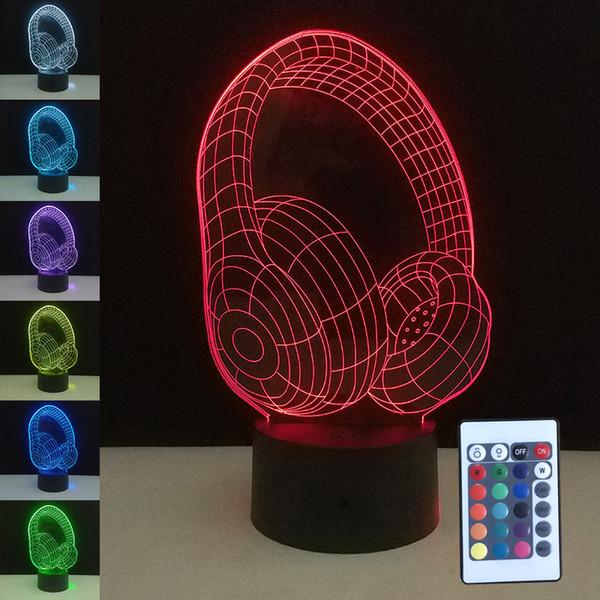 Acheter Nouveauté 3d Veilleuse De Noël Lumières Led Table Lampe De Bureau Avec Interrupteur Tactile à Distance Coloré Maison Chambre Lampes De Chevet