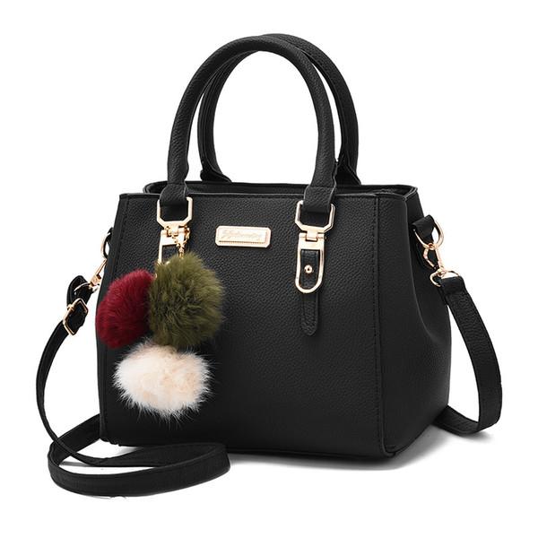 Großhandel Frauen Tasche Pu Leder Tote Markenname Tasche Damen Handtasche Lady Abendtaschen Solide Weibliche Messenger Taschen Reise Mode Sac WS096