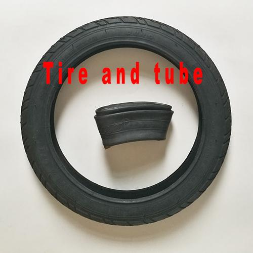 Tire and tube