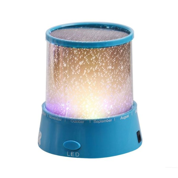 HIPERDERL Smart Home New Romantic Colourful Cosmos Star Master LED Projector Mini Projector Gift Au1