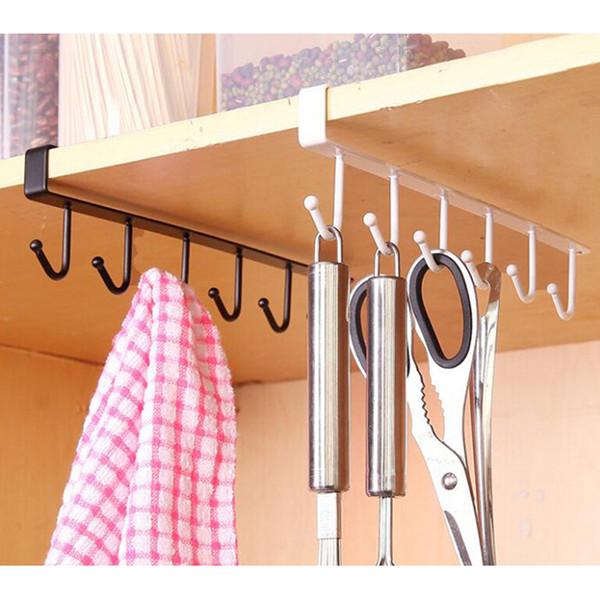 Kitchen Storage Rack Cupboard Hanging Hook Hanger Storage Organizer Holder Kitchen Bedroom Bathroom Sundries Hook