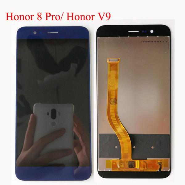 Para huawei honor 8 pro / honra v9 duk-l09 duk-al20 5.7 '' full display lcd com tela de toque do painel de toque digitador assembléia