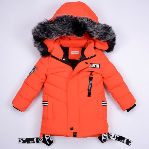2018 boys jackets Winter Jacket For Boys Children's Down Jacket Hooded Coats&Parkas Thick Children Overcoat Boy Clothes 2-6T
