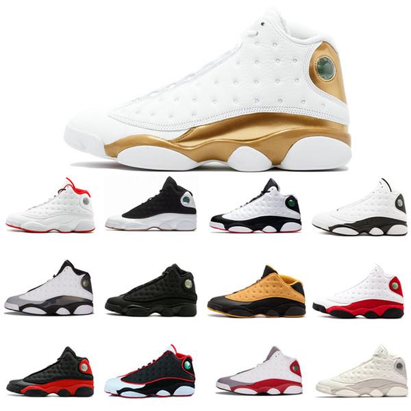 2018 13 Hight DMP tênis de basquete dos homens ao ar livre calçados esportivos homens moda raça Puro Dinheiro Ele Got Game designer Sneakers Shoes