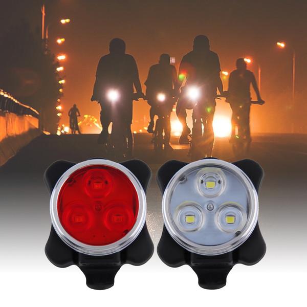 150LM USB Rechargeable Vélo Lumière LED Vélo Feu Arrière Lampe Feu Arrière Vélo Avertissement Tête Vélo Accessoires