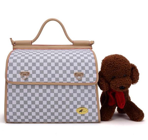 Pet Supplies Dog Cat Bag Dog Carrier Tote Luggage Bag Traveling Portable Shoulder Bag Convenient Fashion 01#