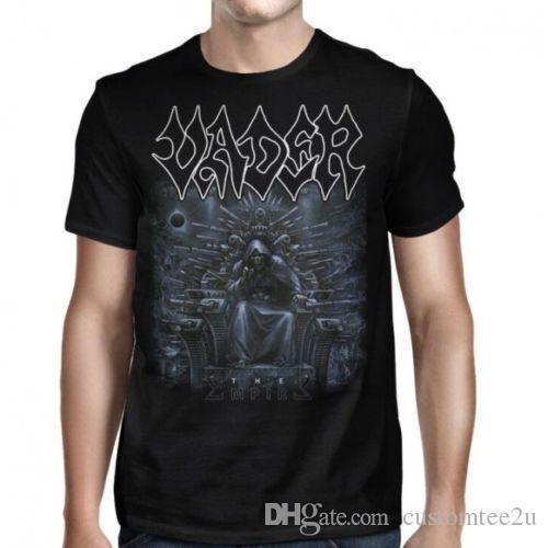 Vader The Empire camiseta S-M-L-Xl-2Xl Nueva camiseta oficial de Metal Music para hombre Moda de algodón de manga corta personalizada 3XL Group Camiseta