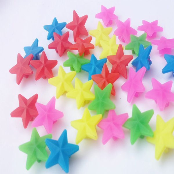 best selling Small Star Bead Bicycle Spokes Multicolored Stars A Child Car Star Type Colourful Beads Outdoor Cycling Color Film 1ws ii