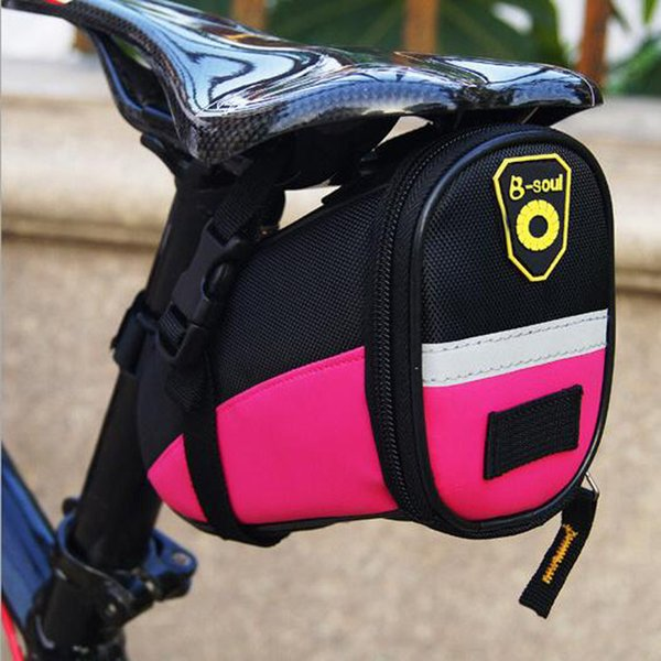 Mountain Bike Bicycle Bag Saddle Tool Storage Case Under Seat Seatpost Waterproof Pannier Cycling Outdoor Sport Accessories 2018