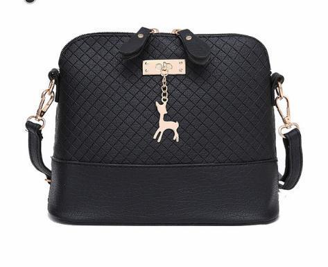 Venda! 2018 mulheres messenger bags moda mini bag com forma de concha de brinquedo de veado mulheres sacos de ombro bolsa